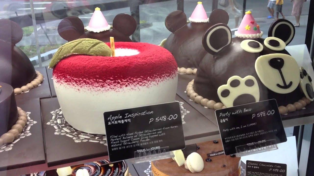Tous Les Jours Birthday Cake Price