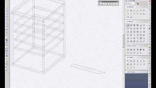 Turbocad   Drawing A Kitchen Cabinet In 3d