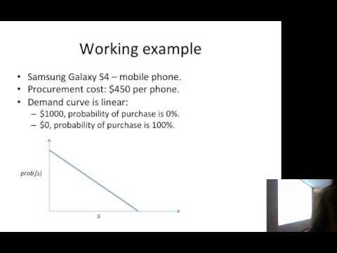 "Kamal Jain on ""Algorithmic Game Theory of eBay's Buyer-Selling matching."""