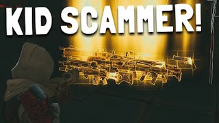 Kid scammer gets scammed in Fortnite SAVE THE WORLD PVE