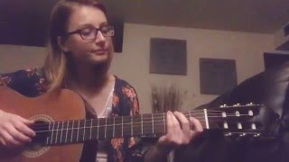Dream a little dream mama cass - acoustic cover with chords