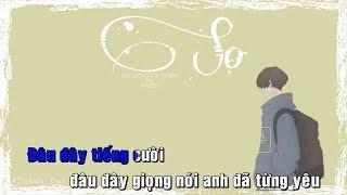 「Lyrics Video」Karaoke Sợ - Reddy | Best Chuẩn