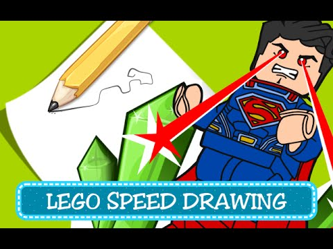 Speed Drawing Coloring Pages Disegni Da Colorare Lego Dc