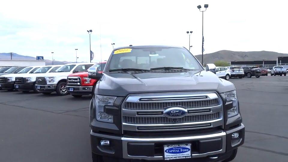 Capital Ford Carson City >> 2016 Ford F-150 Carson City, Reno, Northern Nevada, Susanville, Sacramento, CA 30753 - YouTube