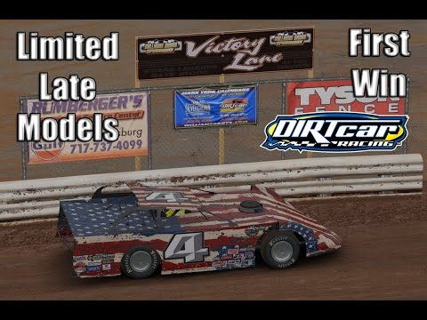 iRacing dirt Limited Late Models: First dirt win at Williams Grove Speedway