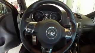 2013 VW GTI: Episode 71 Vlog: Steering Wheel Adjustment, Engine Bay Cleaning