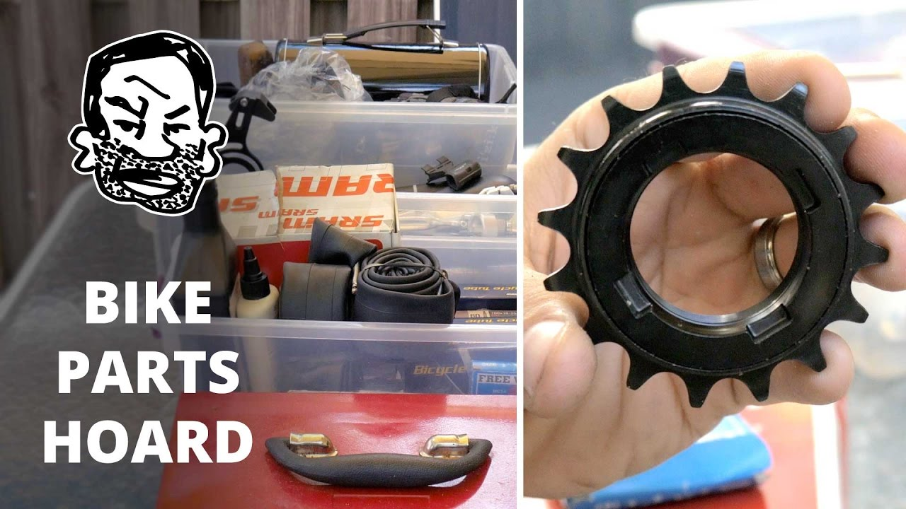 What's in Seth's MTB parts bin?