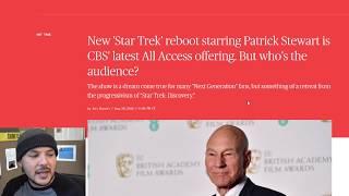 Liking Patrick Stewart and Star Trek Is Racist or Something