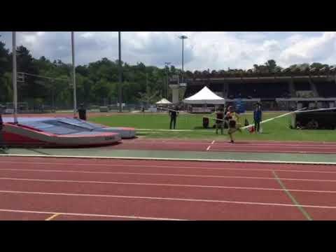 Championnats Genevois 2019 - Aude Malzacher réussi 3M à la perche
