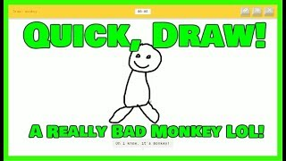Quick, Draw! - JonathanBLOGS Let's Play
