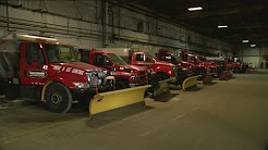 Local plow company prepares for snowy weather