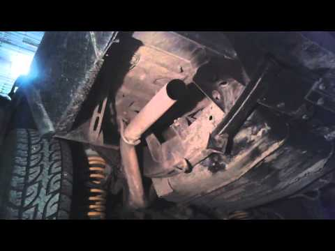 Land Rover Discovery 2 Td5 sound exhaust gas