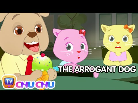 The Arrogant Dog Prank | Cutians Cartoon Comedy Show For Kids | ChuChu TV Funny Prank Videos