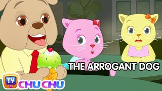 The Arrogant Dog | Cutians Funny Cartoon Comedy Show For Kids | ChuChu TV