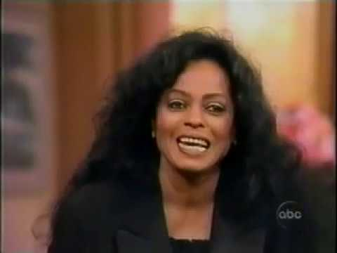 Diana Ross 1994 Good Morning America  on Out of Darkness