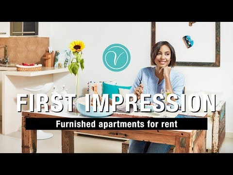 Furnished apartments for rent | First impression | VISIONAPARTMENTS