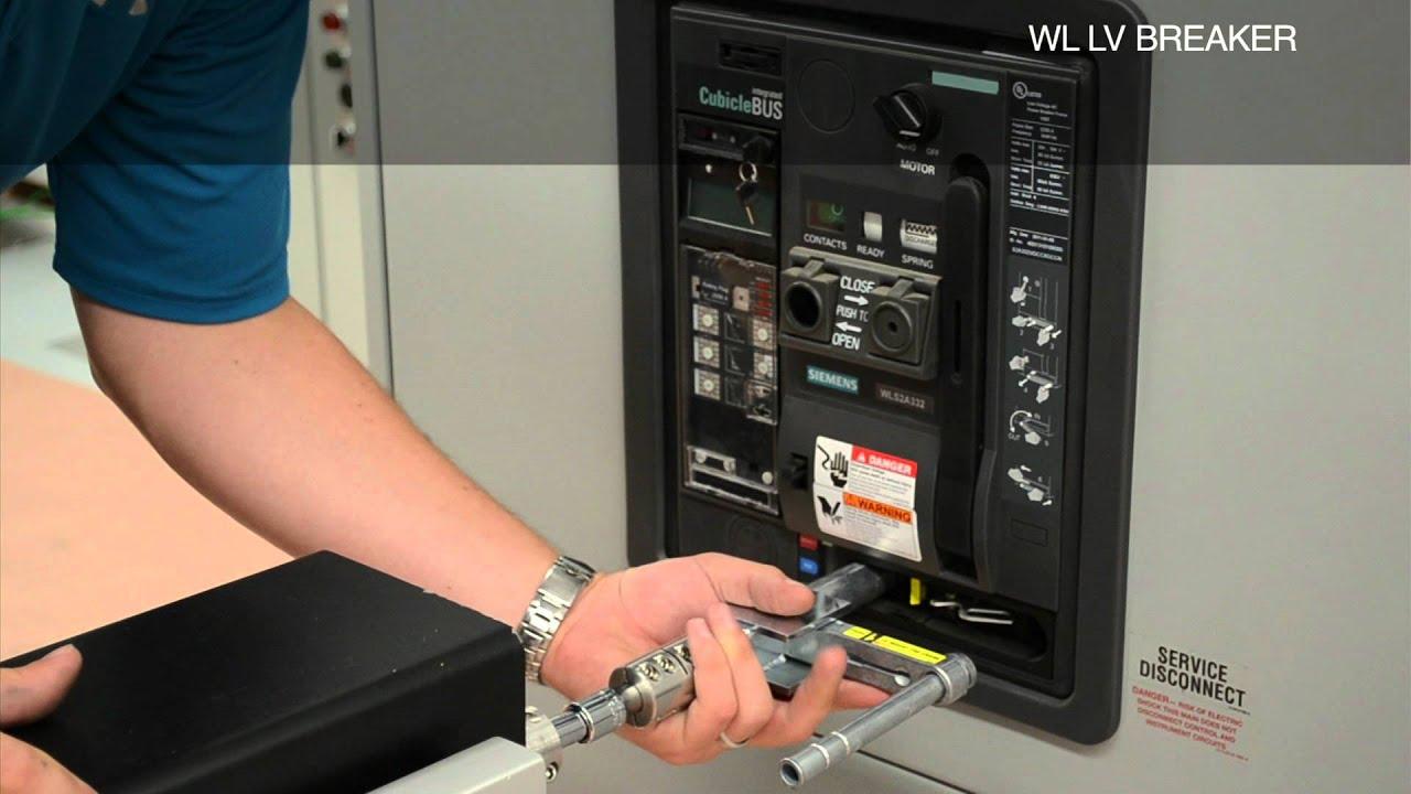 Inorac Remote Racking Siemens Wl Breaker Youtube Control Breakers Electronic Design