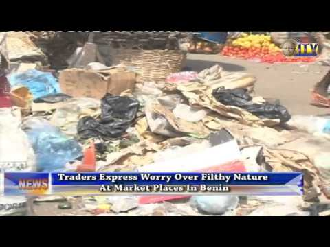 Traders Express Worry Over Filthy Nature At Market Places In Benin