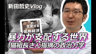 【Vlog】暴力が支配する世界:猫組長さん指摘の政治力学