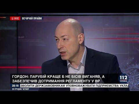 Гордон: Снимаю шляпу перед Цимбалюком за вопрос на пресс-конференции Путина