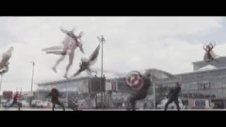 Captain America: Civil War (Suicide Squad Style)