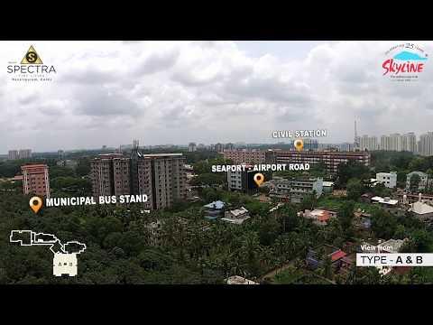 Skyline Spectra at Mavelipuram, Off seaport-airport road, Kochi