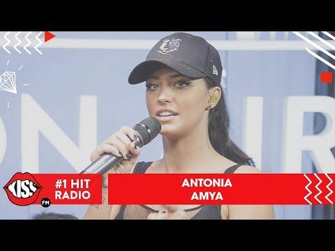 Antonia - Amya (Live @ Kiss FM)