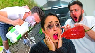 WORLD'S HOTTEST CHILLI CHALLENGE (GONE WRONG)