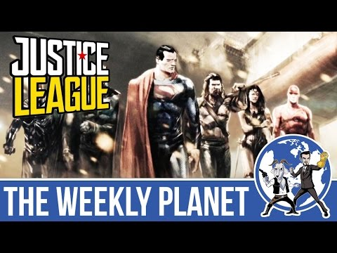 JUSTICE LEAGUE News & INDEPENDENCENCE DAY: RESURGENCE Review  - The Weekly Planet Podcast