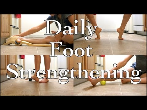 Ballet At Home: Follow Along Daily Foot/Ankle/Arch Strengthening Routine + Ballet Foot Stretch Demo