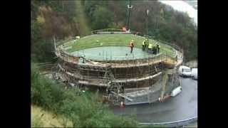 Sedum Green Roof Installation at the Eden Project by Bauder Ltd.wmv