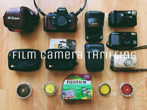Film Camera Thrifting - NIKON, PENTAX, CANON JACKPOT!