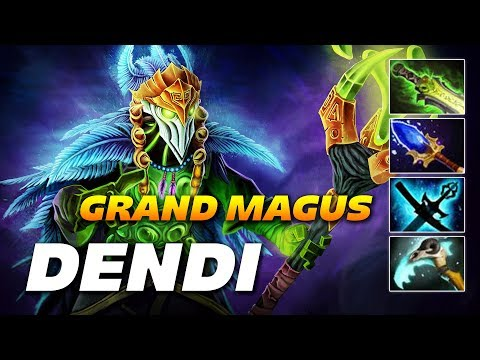 Dendi Rubick Grand Magus | Dota 2 Pro Gameplay thumbnail
