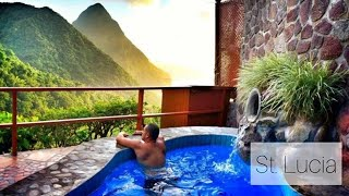 Our honeymoon trip at the Island of St. Lucia at the Ladera Resort! Video