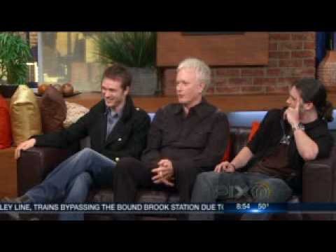 Anthony Geary, Jonathan Jackson & Nathan Parsons On WPIX  31910