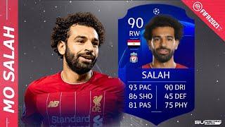 MOHAMED SALAH 90 - Wie gut ist der Flügelflitzer? - FIFA 21 Player Review