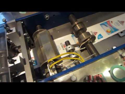 Фасовочно-упаковочный автомат крючков (пластин) от моли