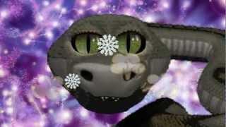 Мультик ♫ С новым 2013 годом ❥ годом черной водяной змеи.