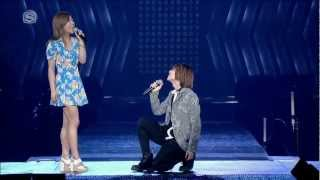 [HD VID] 120520 Onew & Luna - Can I Have This Dance @ SMT in LA