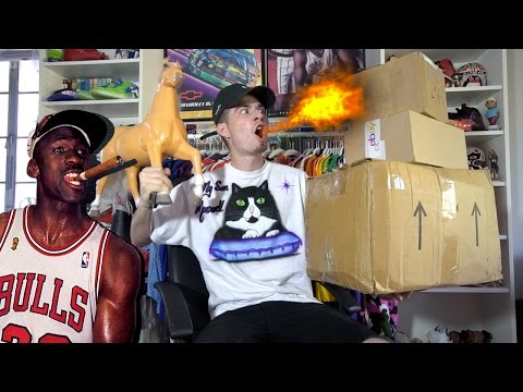 VINTAGE JORDAN GRAILZ!! GIANT FAN FLAME UNBOXING!