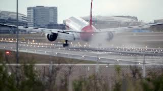 22 Minutes Planespotting at Frankfurt Airport EDDF