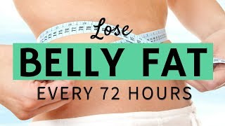 How To Lose Belly Fat Fast! Lose 1 Pound Every 72 Hours| Healthy Hustle & Heart