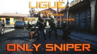 Ligue only Sniper avec la eAxis ! #1