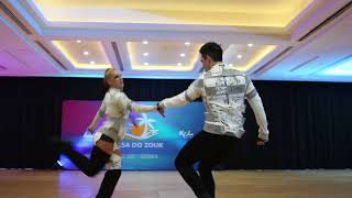 Casa Do Zouk 2018 - Jordan Frisbee & Tatiana Mollmann - West Coast Swing