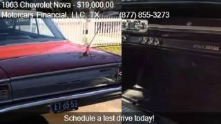 1963 Chevrolet Nova Super Sport for sale in Headquarters in