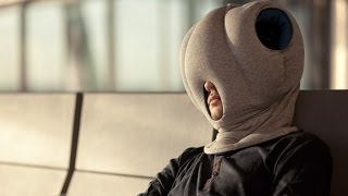 Ostrich Pillow Kickstarter Campaign - Studio Banana Things #spotdesign Thumbnail
