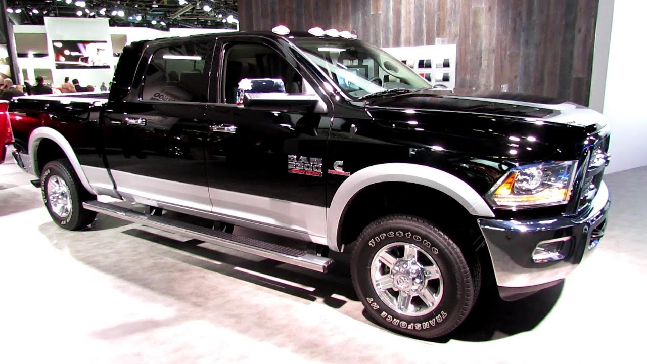 2013 ram 2500 laramie mega cab exterior and interior walkaround 2013 detroit auto show youtube - 2015 Dodge Ram 2500 Mega Cab Lifted Interior