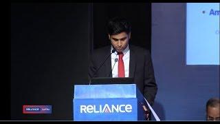 Anmol Ambani - Reliance Capital AGM Full Speech