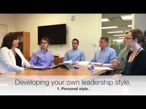 Verizon interns ask career advice, developing a leadership style and LinkedIn - Janet Vlog #6