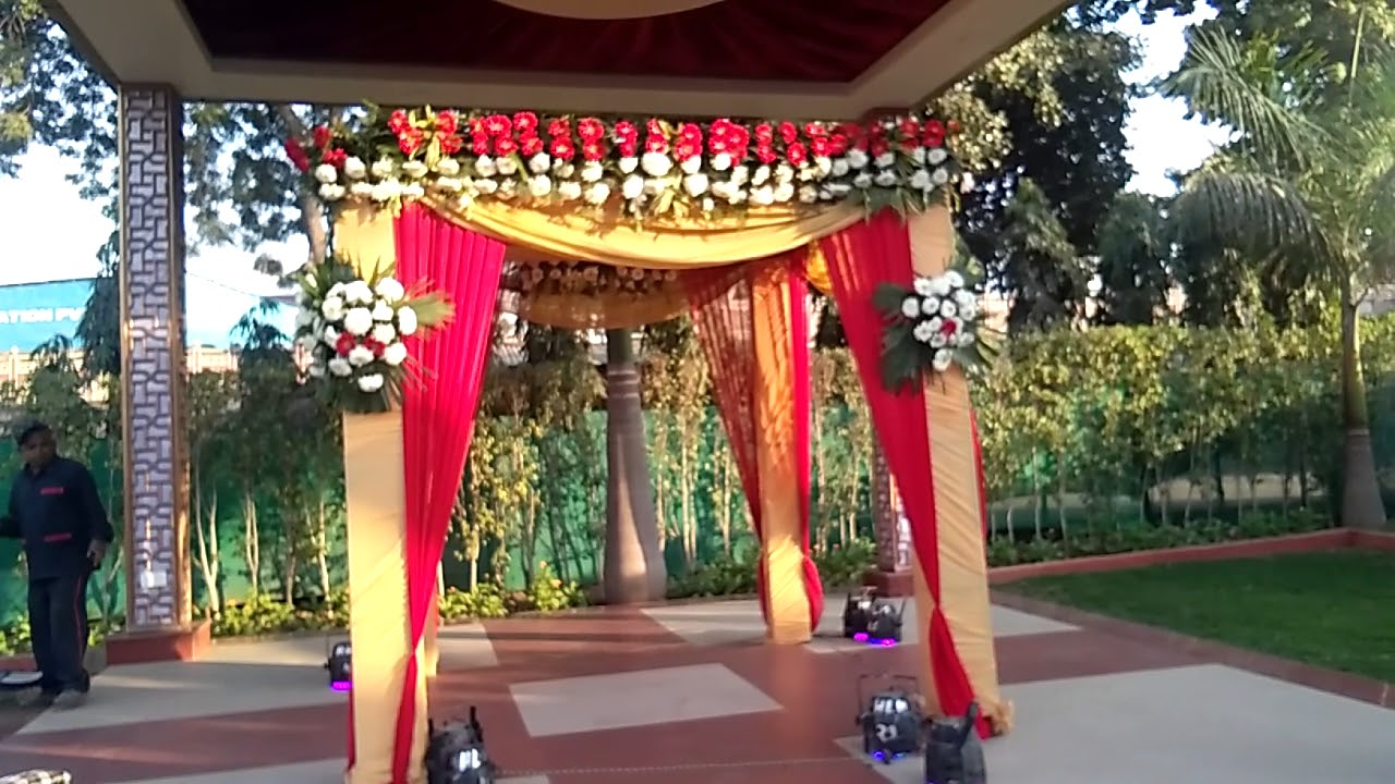 Mandap Decoration For Wedding In Delhi 09891478183 Youtube